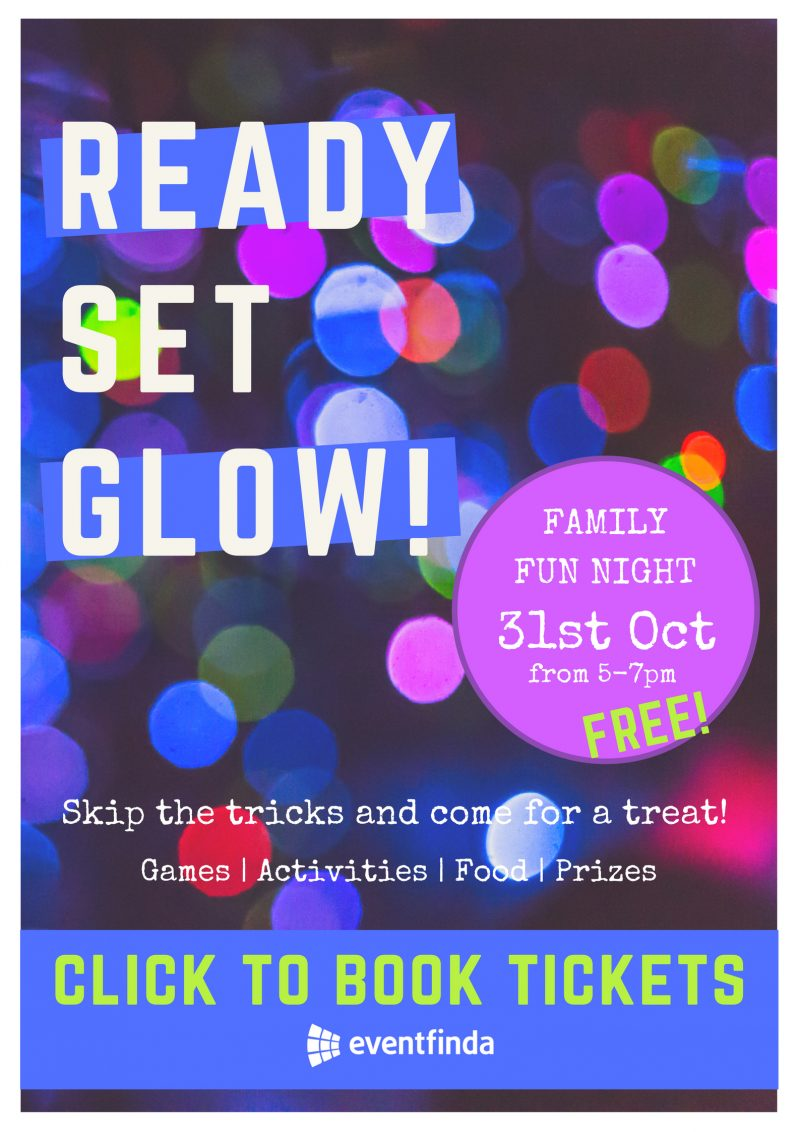 Book tickets for Ready Set Glow!